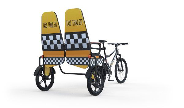 Business Gadgets: BIZZ ON WHEELS lansează taxi-urile eco Taxi Trailer