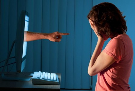 4 in 10 internet users have been harassed online